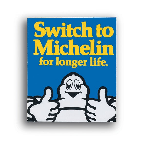 Michelin poster from 1978
