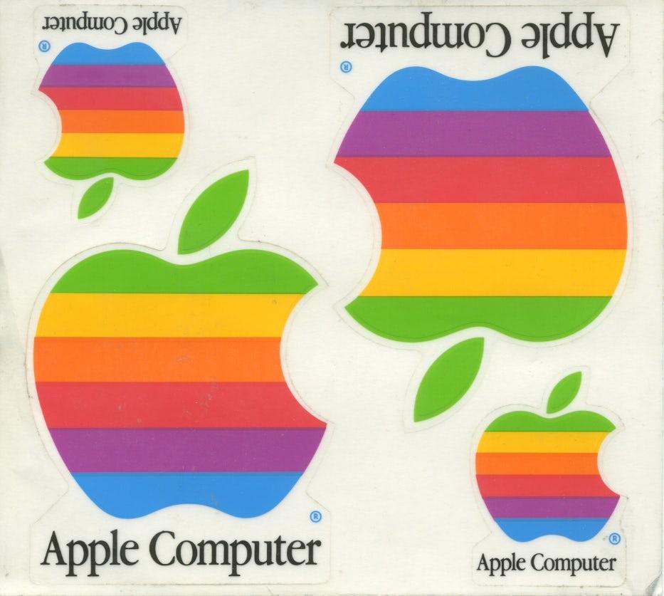 1977 apple logo by Rob Janoff/Regis McKenna