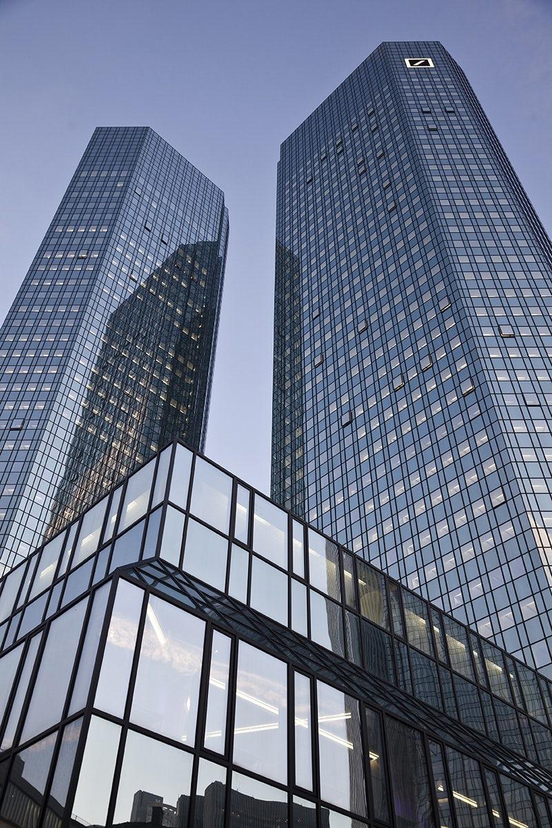 Photograph courtesy Deutsche Bank