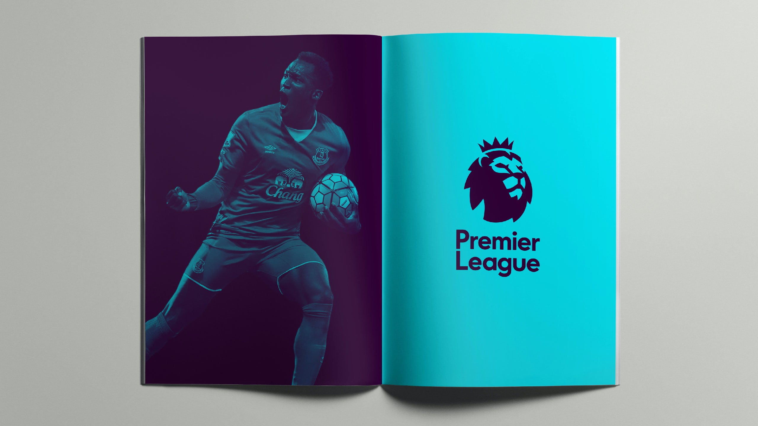Colour washes have been applied to images of players supplied by clubs or photo libraries. New York agency Collins used a similar approach last year for Spotify, which has to use images of artists supplied by record labels