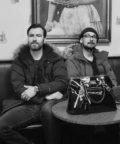 Chris Bovill and John Allison of 4Creative