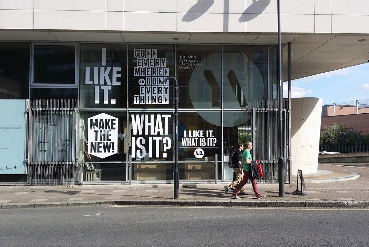 Made North Gallery, founded by Patrick Much who is one of Creative Review's Creative Leaders 50