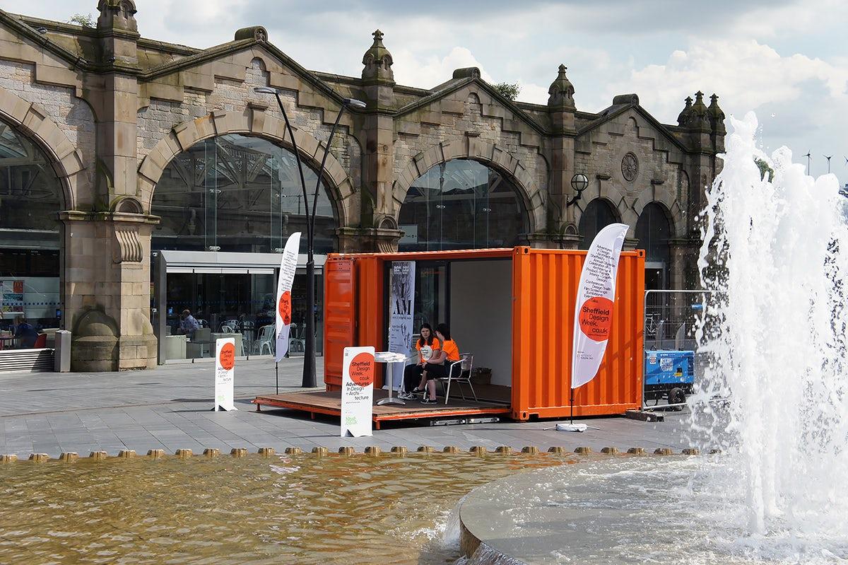 Set of Sheffield Design Week