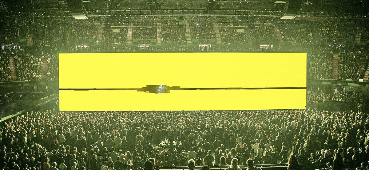 Set for U2, designed by Devlin