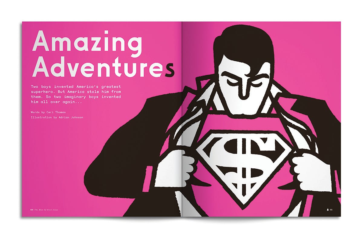 spread from mag founded by Danny Miller who speaks to us about how to launch a magazine