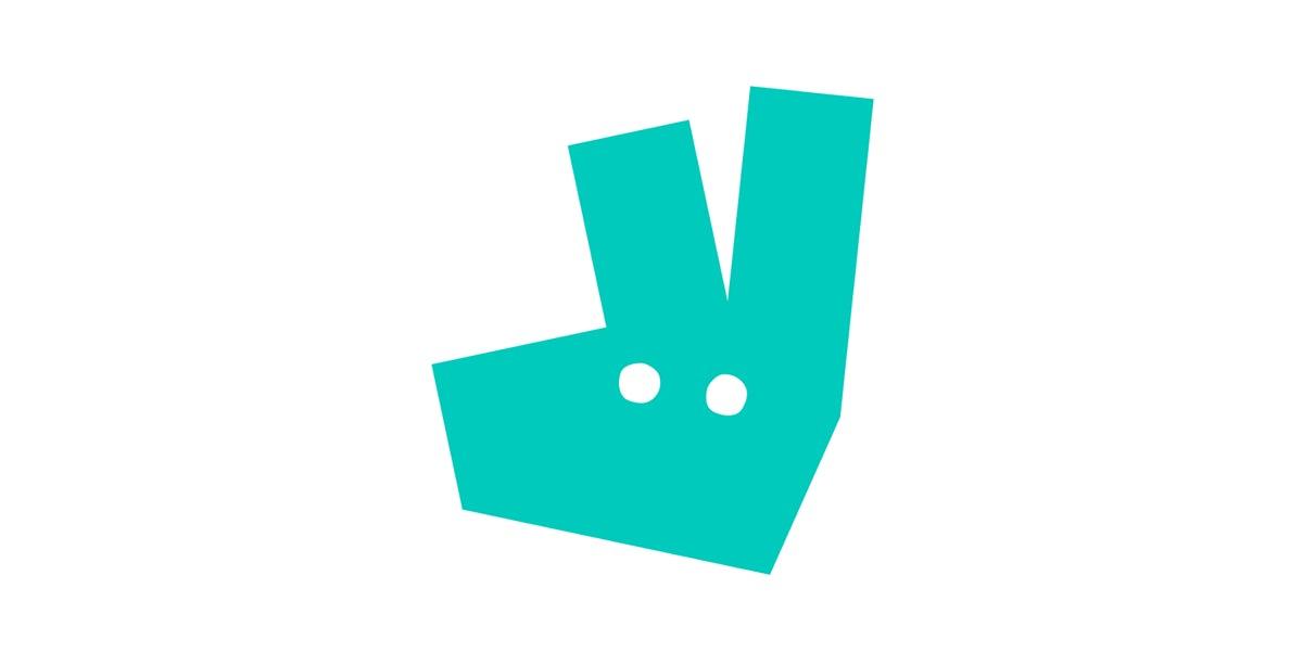 new Deliveroo logo