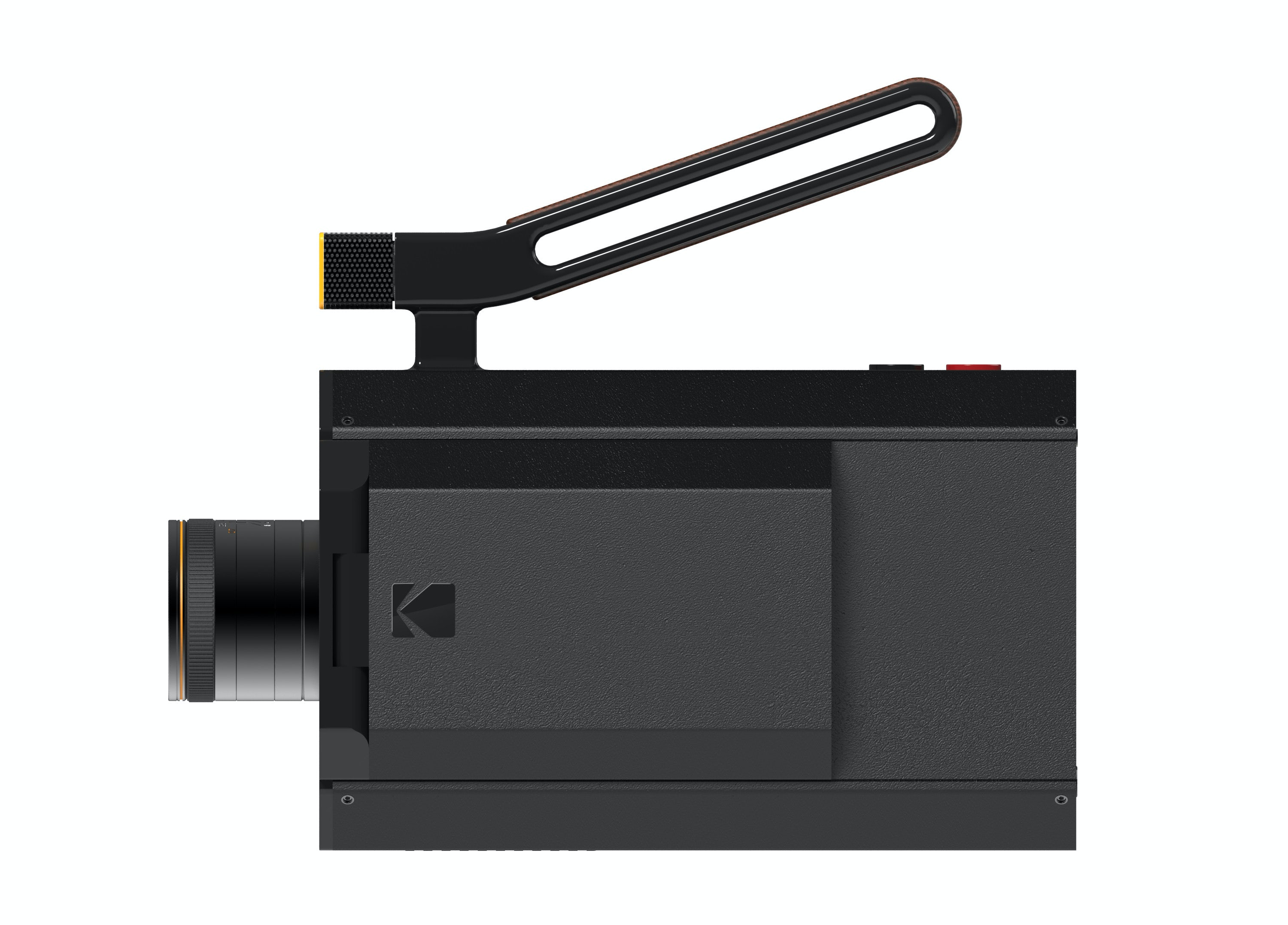 The new Super 8 camera. Kodak worked with Yves Behar to create it