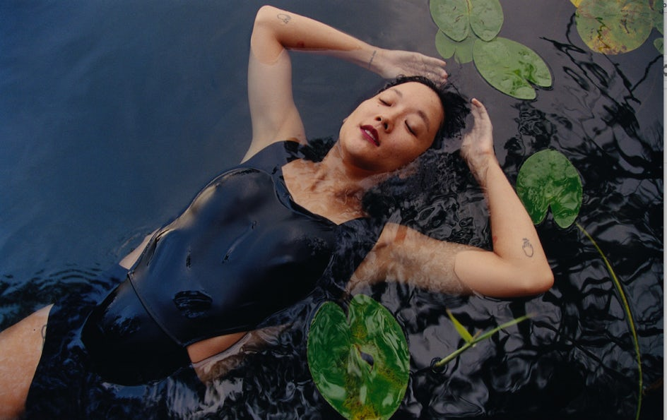 Christine Sun Kim, photographed by Harley Weir for Chanel and i-D