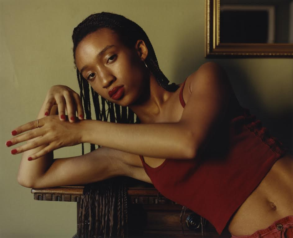 Zariya Allen photographed by Harley Weir for Chanel and i-D