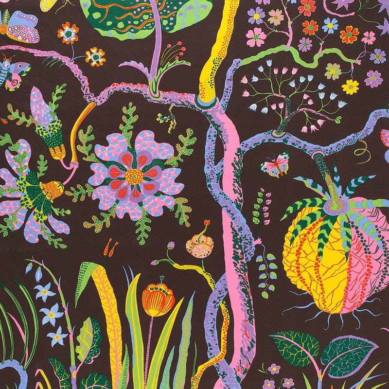 Hawaii Brun by Josef Frank ©Svenskt Tenn. Images courtesy of the Fashion and Textile Museum