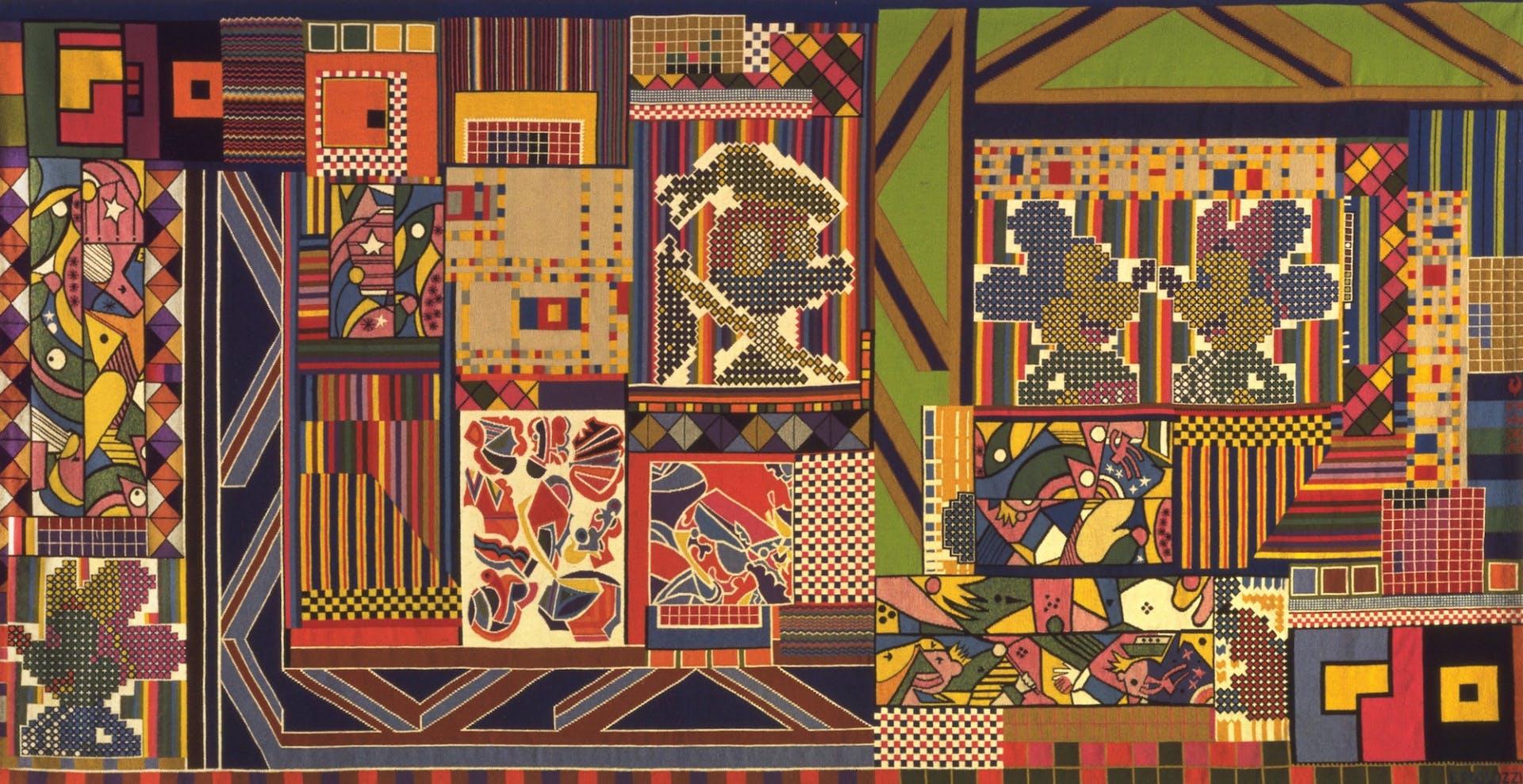 Eduardo Paolozzi Whitechapel Gallery Whitworth Tapestry
