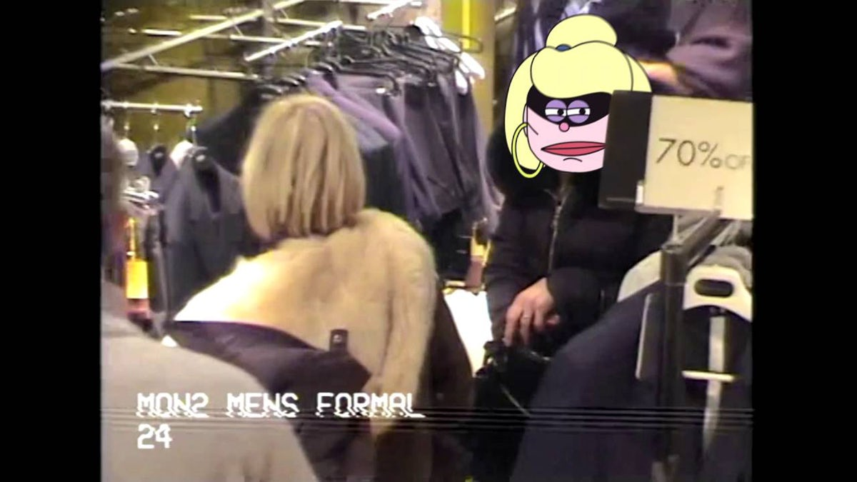 Harvey Nichols Shoplifting ad