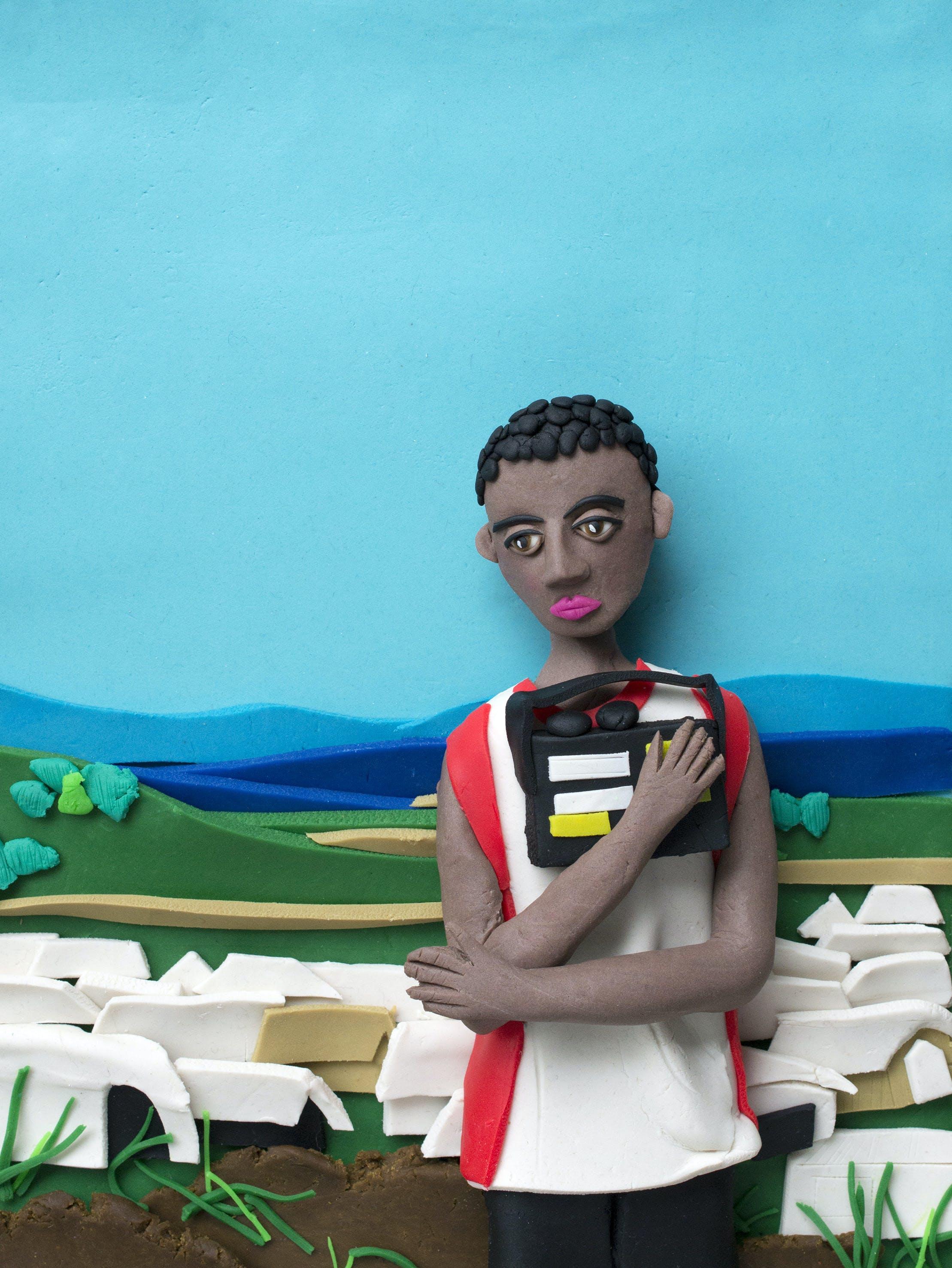 Magnum Photos in Play-Doh by Eleanor Macnair