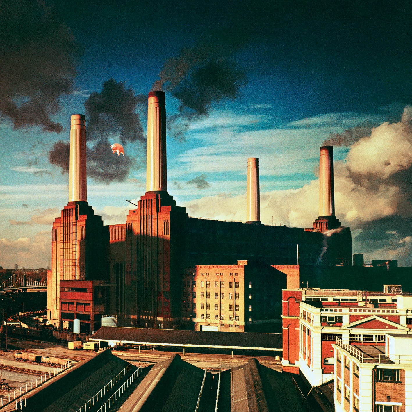 The cover of Pink Floyd's Animals. Artwork: Hipgnosis