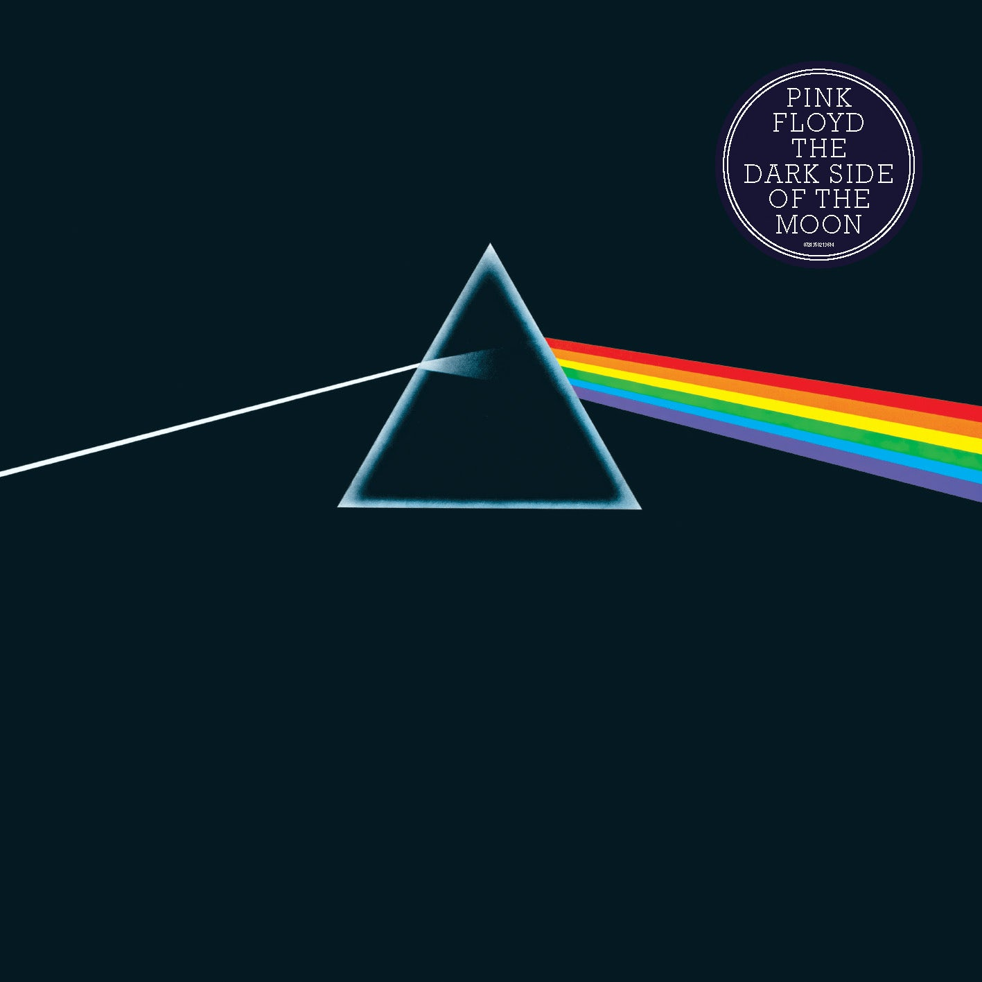 Cover art for Dark Side of the Moon. Design: Hipgnosis. Illustration: George Hardie