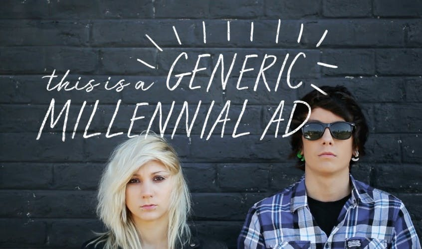 This is A Generic Millennial Ad