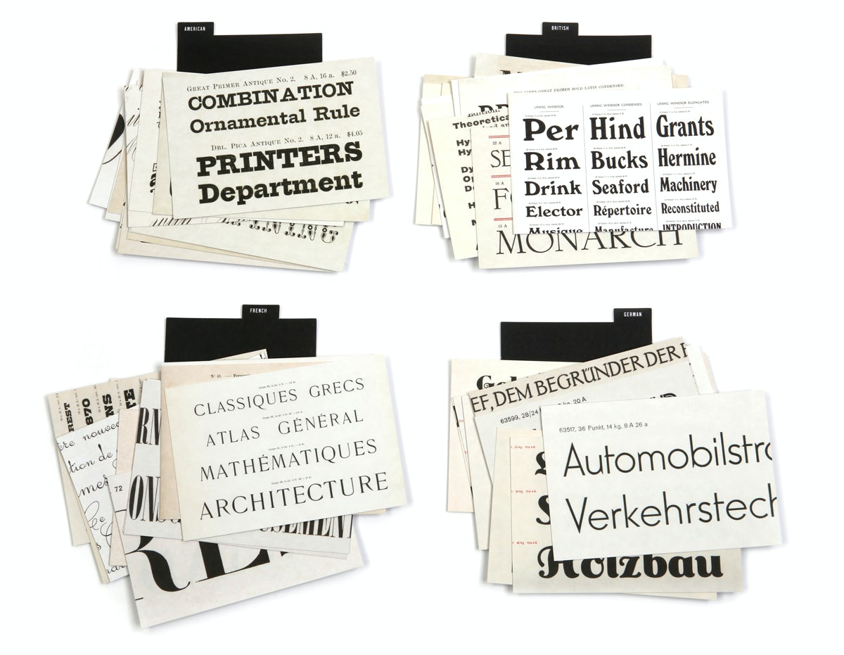 Tobias Frere-Jones Type Specimens