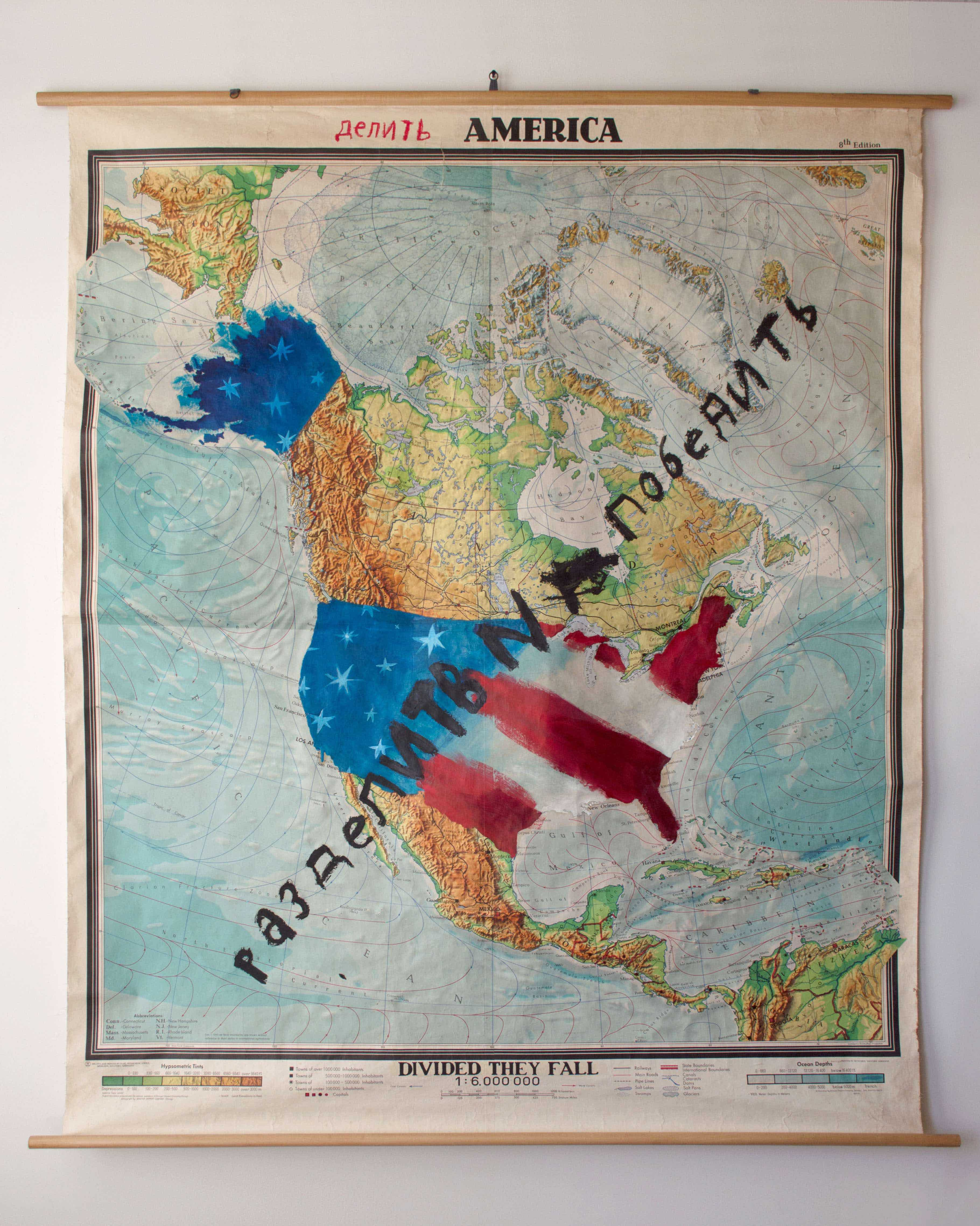Divided States of America by Oliver Jeffers