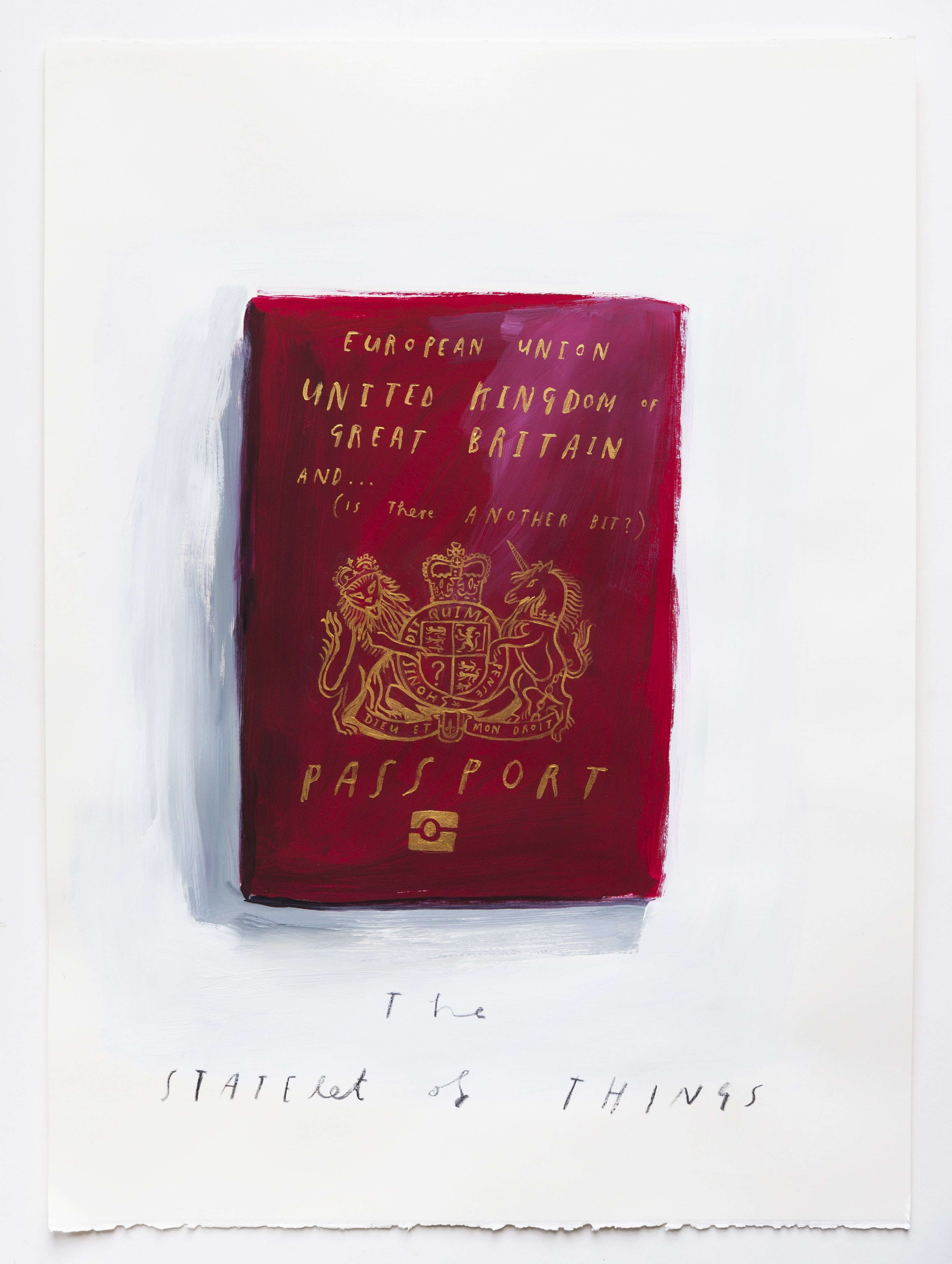 The Statelet of Things by Oliver Jeffers