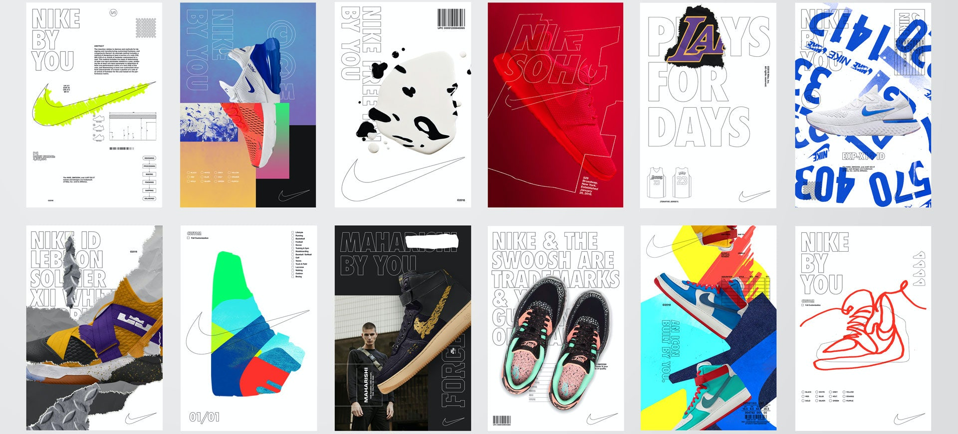 Prestador paralelo paño  Nike ID rebrands as Nike By You - Creative Review