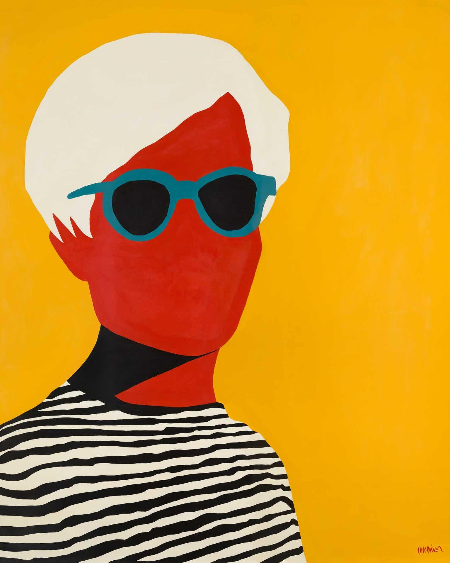Andy Warhol by Coco Dávez