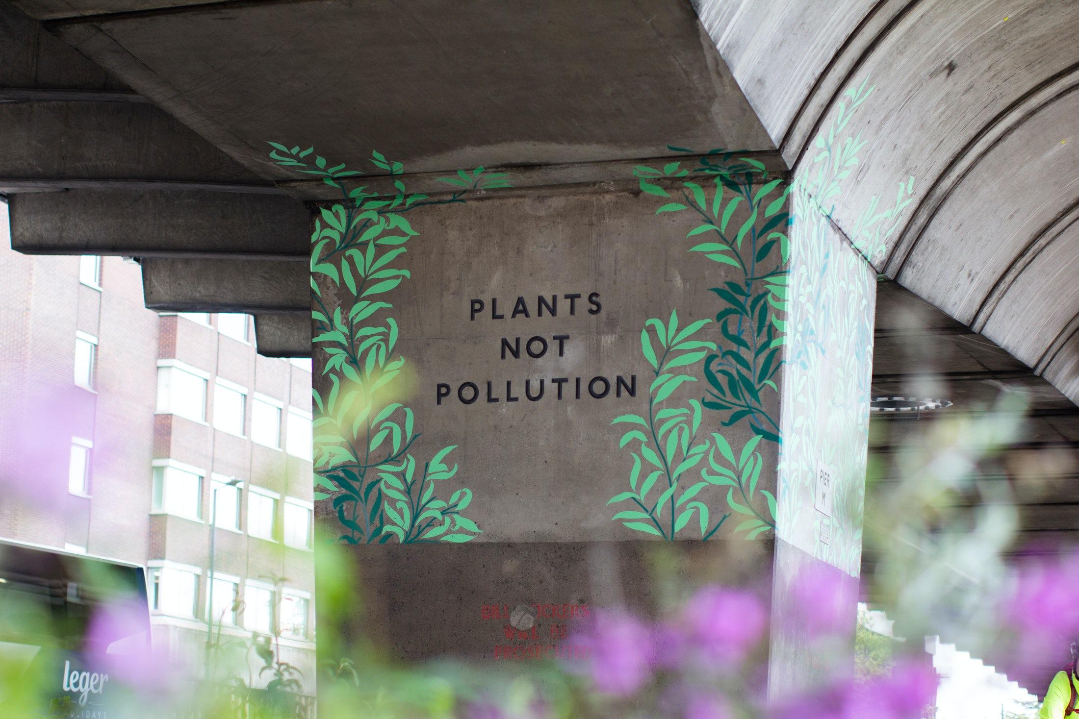 Fieldwork Facility — Plants not pollution