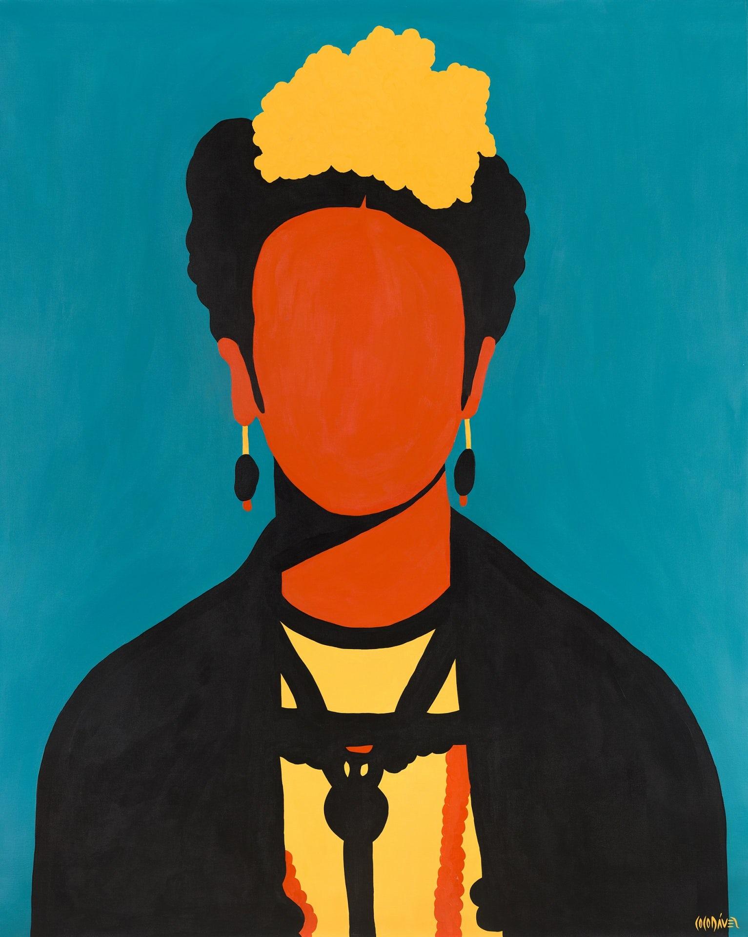 Frida Kahlo by Coco Dávez