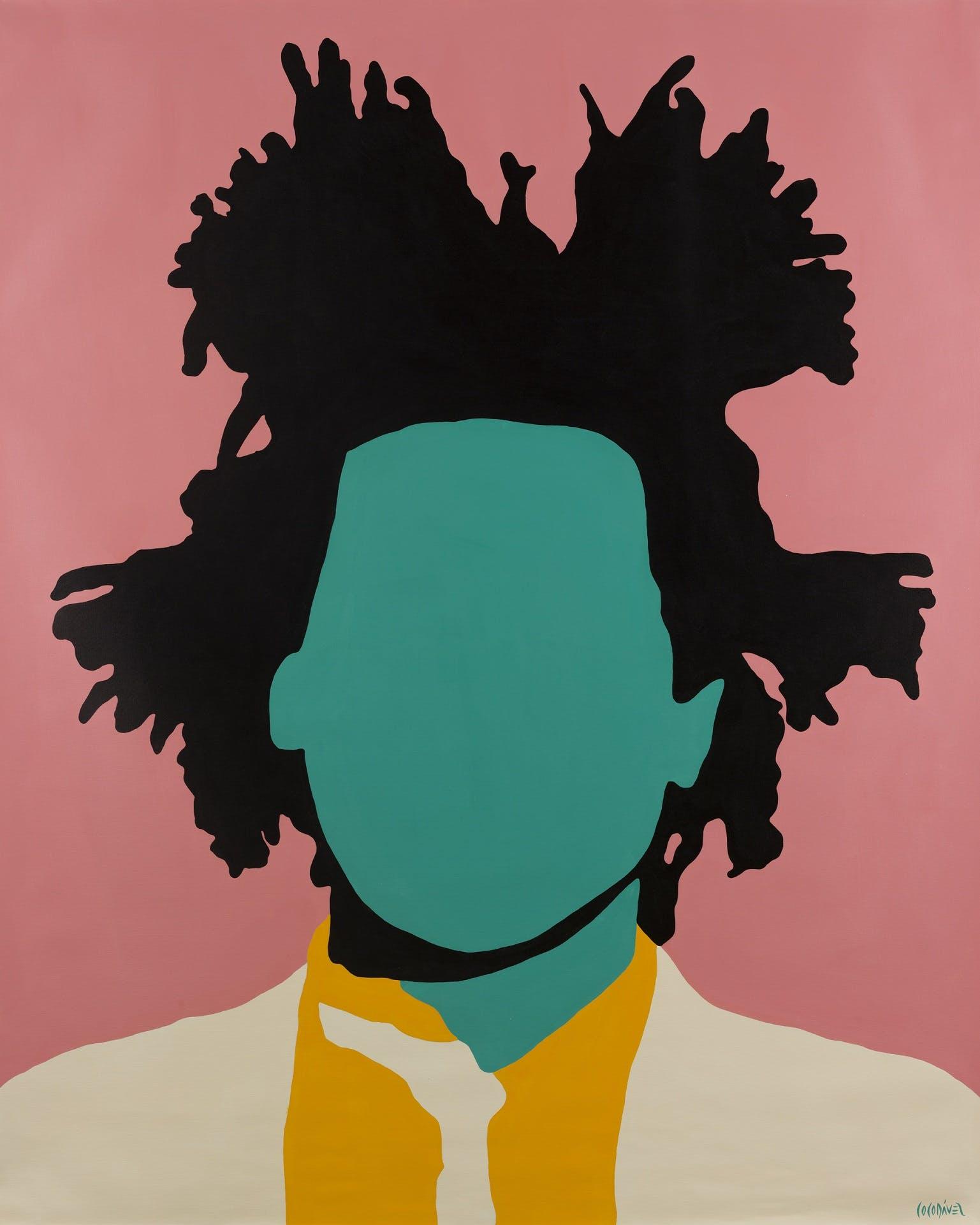 Jean-Michel Basquiat by Coco Dávez