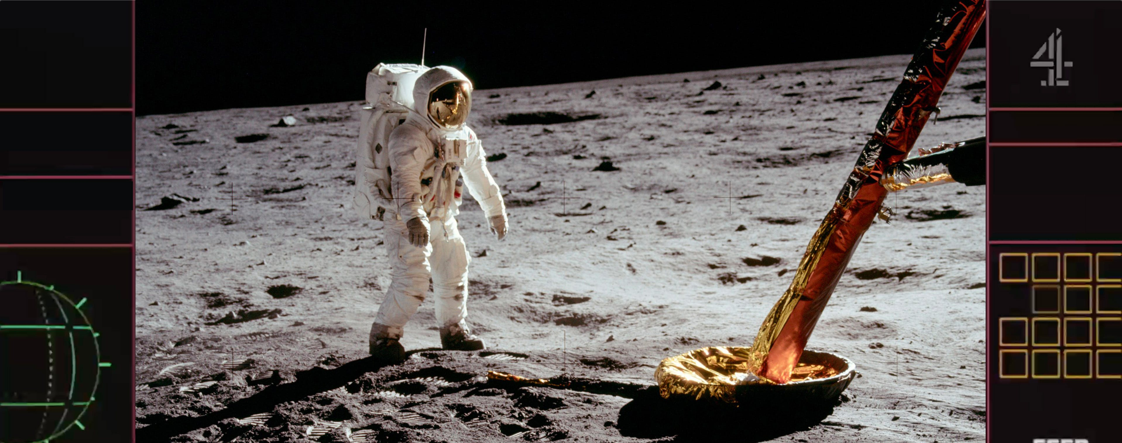 Channel 4 moon landings livestream