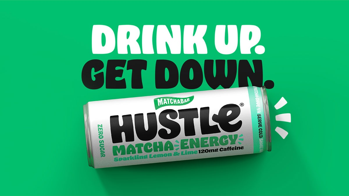 JKR unveils funk-inspired branding for energy drink Hustle