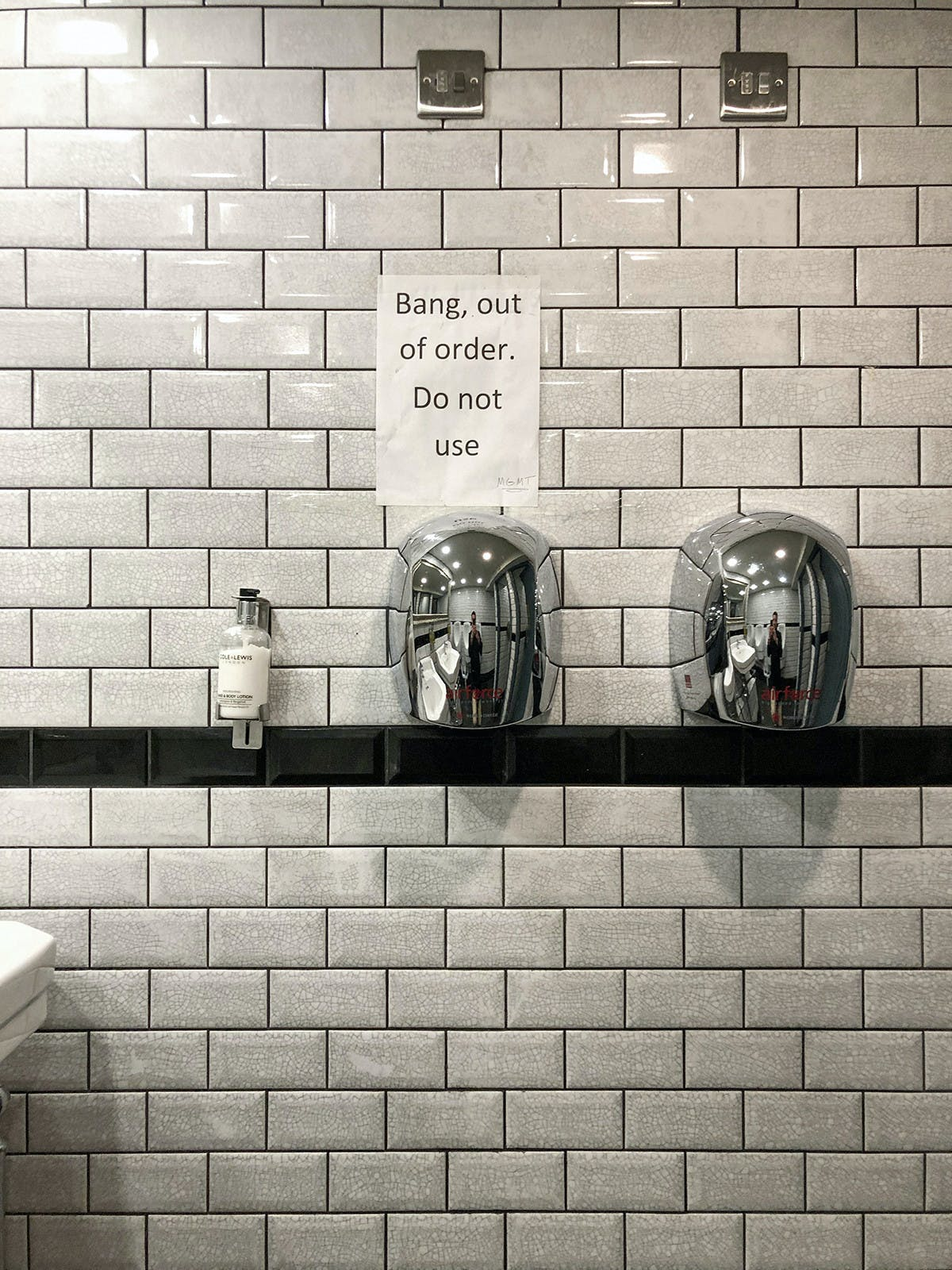 Hand Dryers by Samuel Ryde