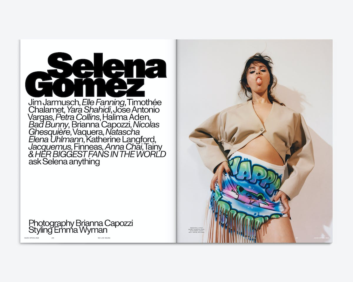 Dazed magazine redesigns for a new era