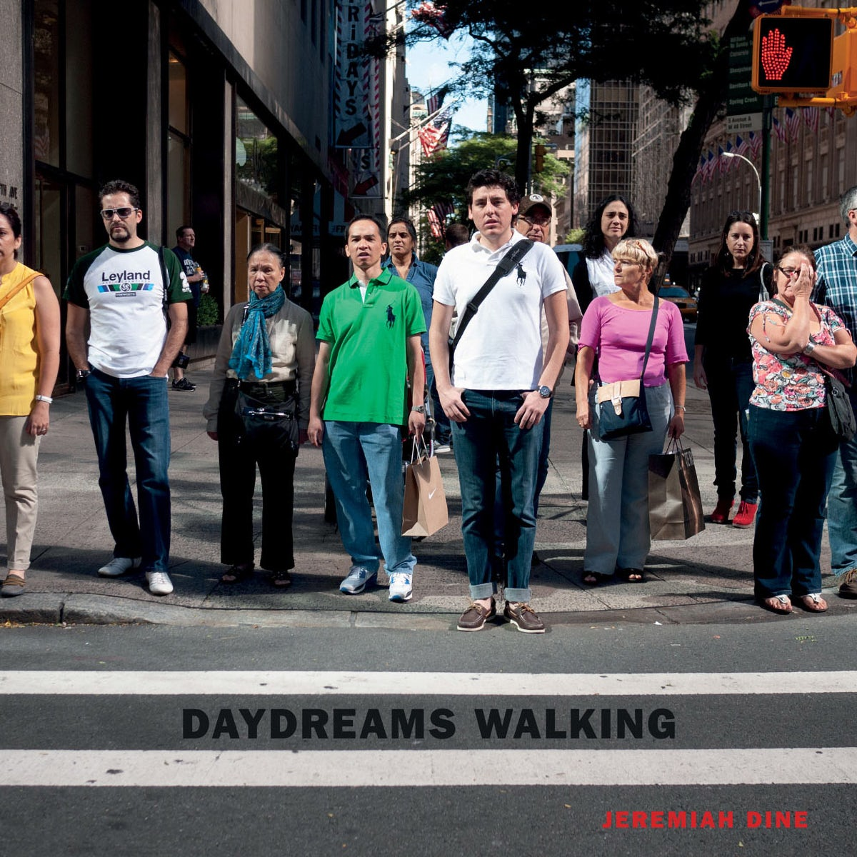The cover of Daydreams Walking by Jeremiah Dine
