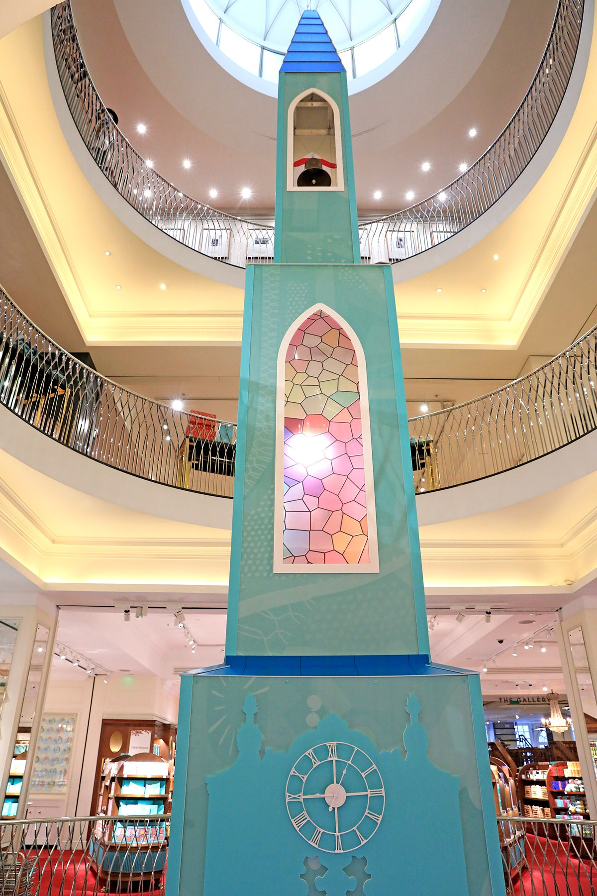 An image of the Chapel of Love at Fortnum & Mason which is hosting wedding ceremonies