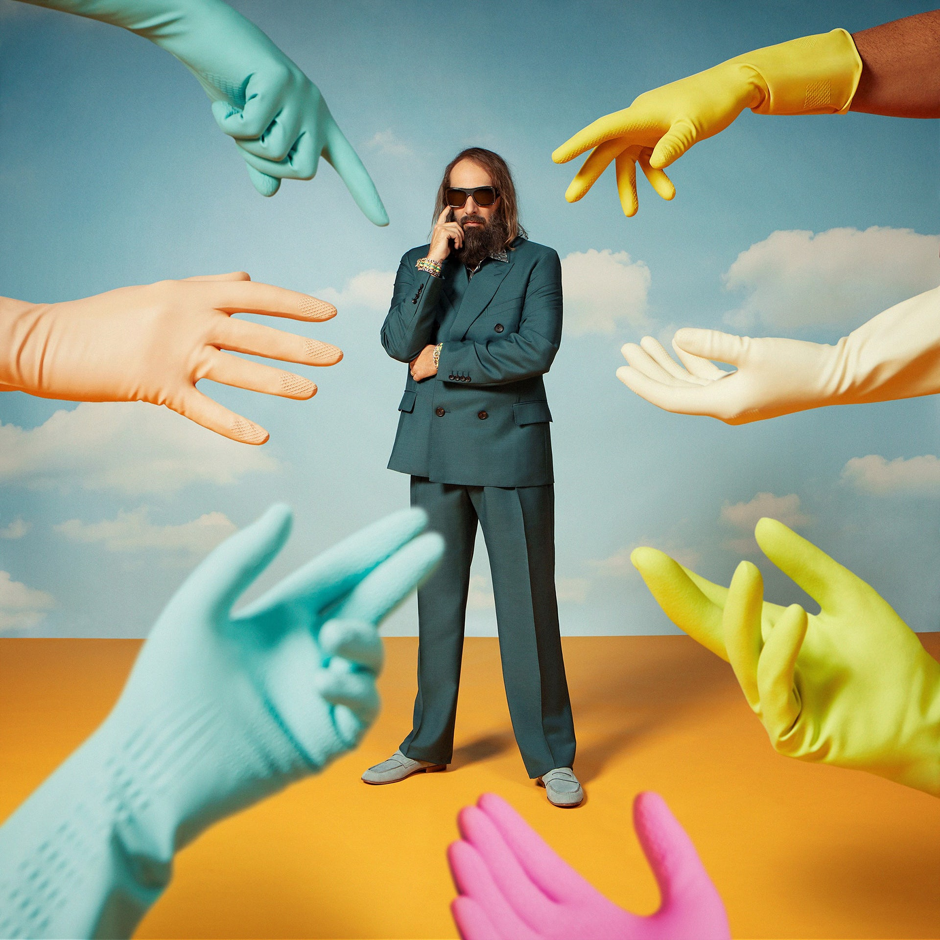 Cover art for Sébastien Tellier single A Ballet