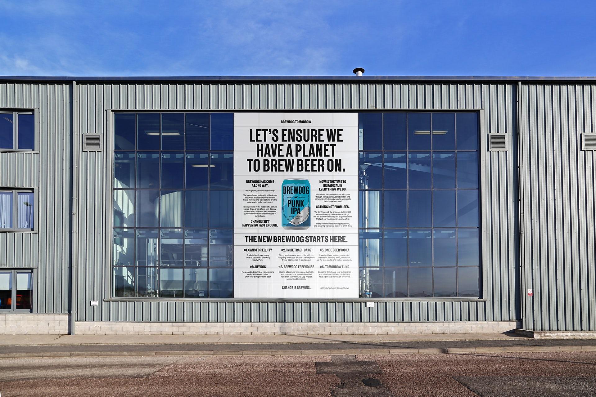 BrewDog unveils new visual identity