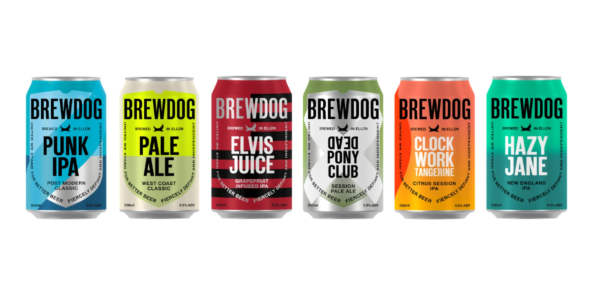 Brewdog Cleans Up Its Look With A Simplified Visual Identity
