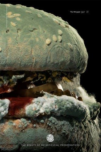 Burger King mold ad