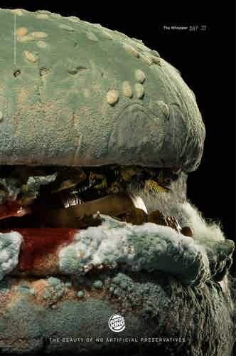 Burger King mold ad