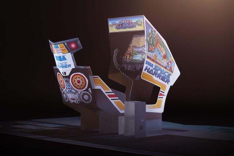Sega Arcade games celebrated in a new pop-up book