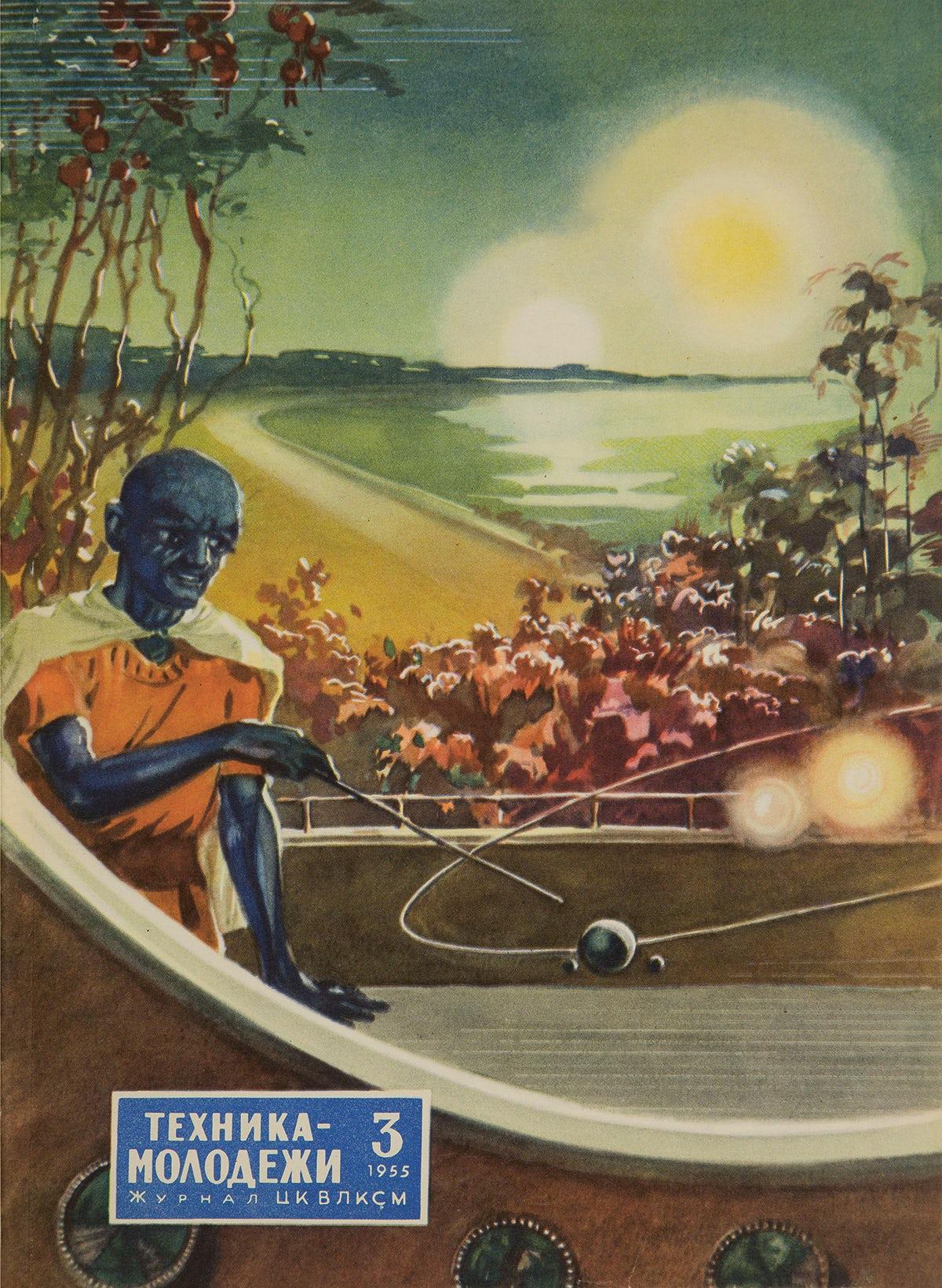 A voyage into Soviet-era space graphics