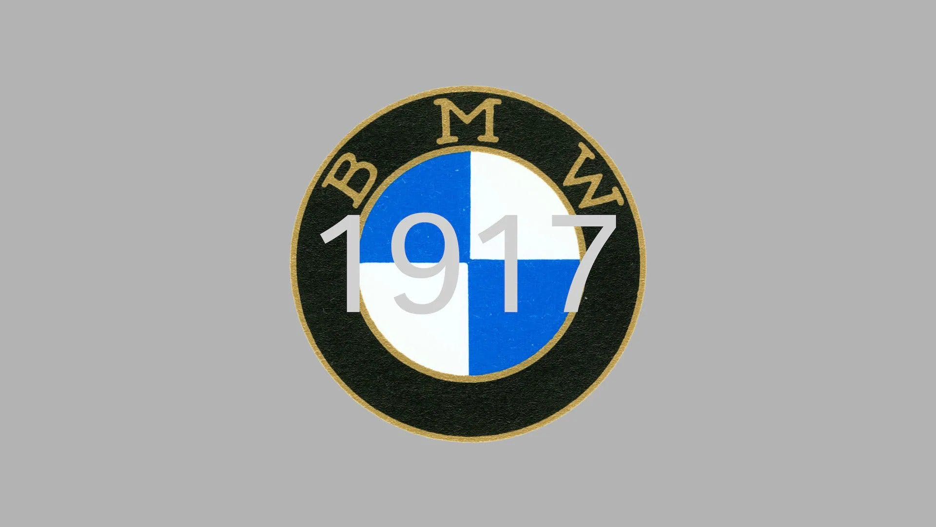 BMW 1917 logo