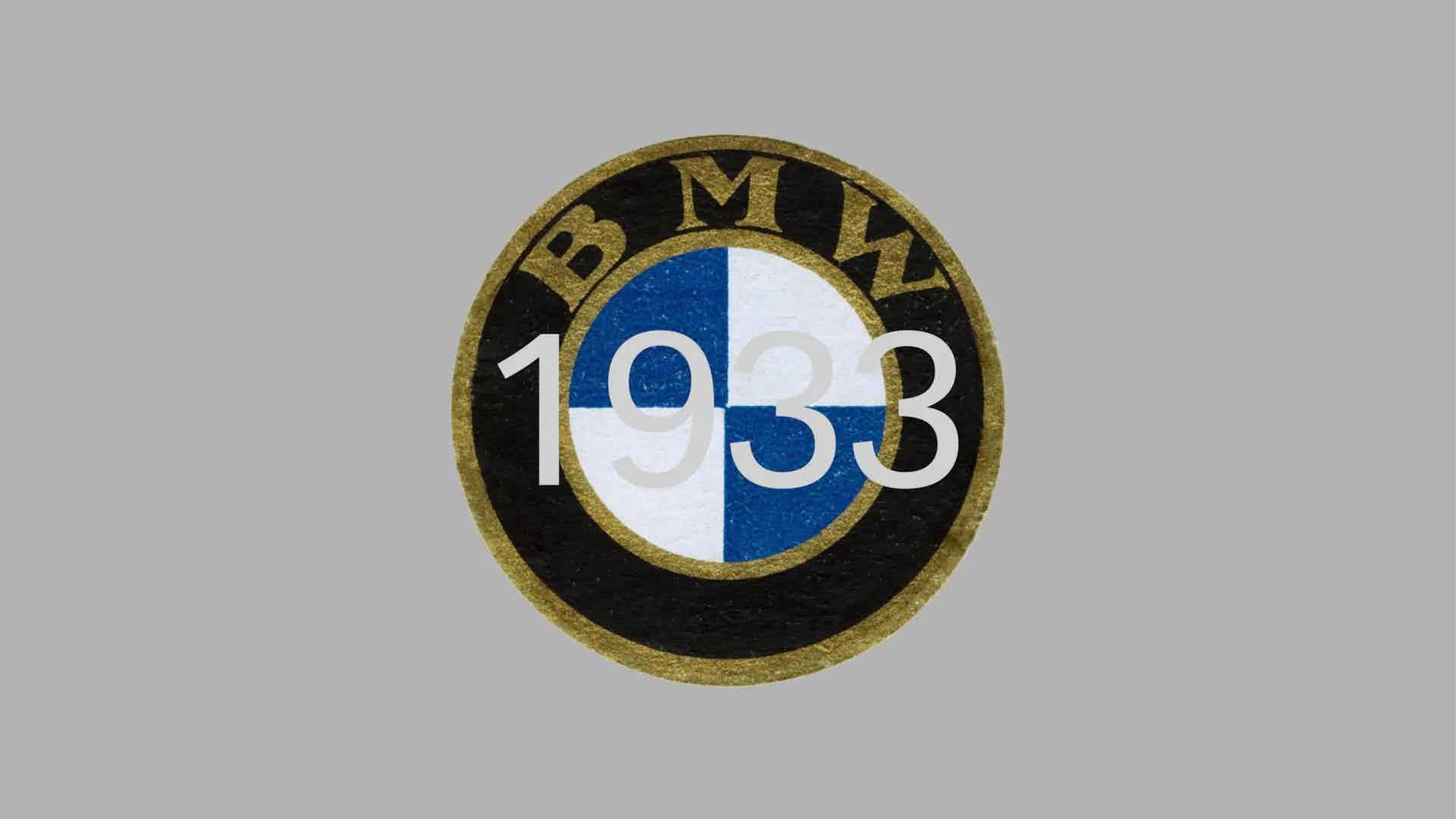 BMW logo from 1933