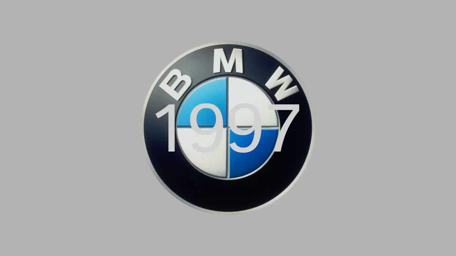 BMW 1997 logo design