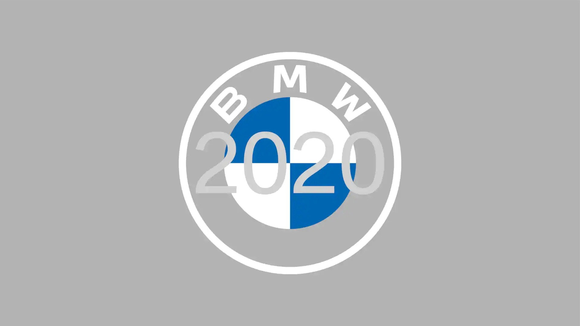 BMW logo redesign for 2020