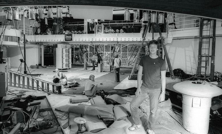 Studio 54 construction