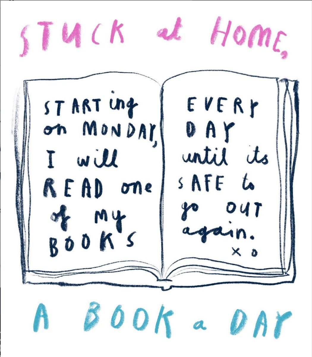 Image result for Oliver Jeffers reading out loud stuck at home