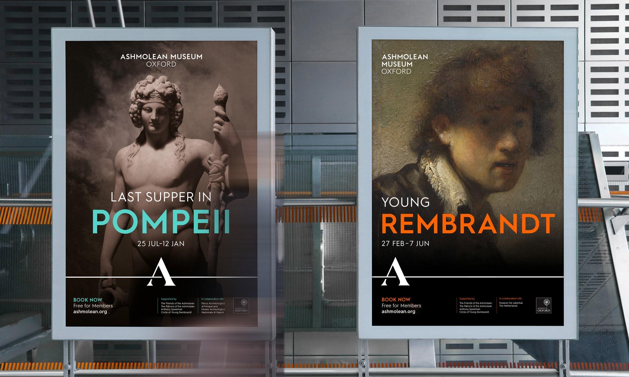 Ashmolean exhibition posters