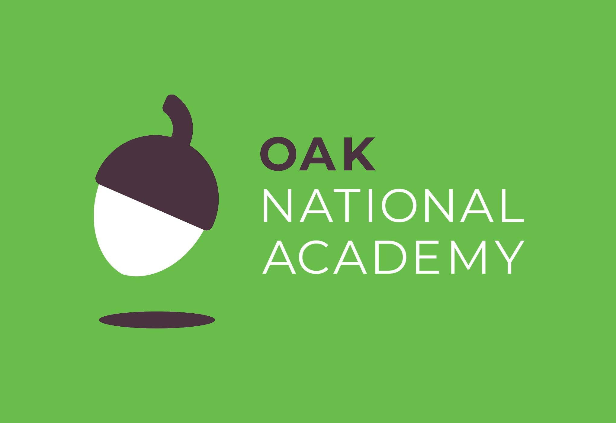 Johnson Banks' identity for Oak National Academy is an example of ...