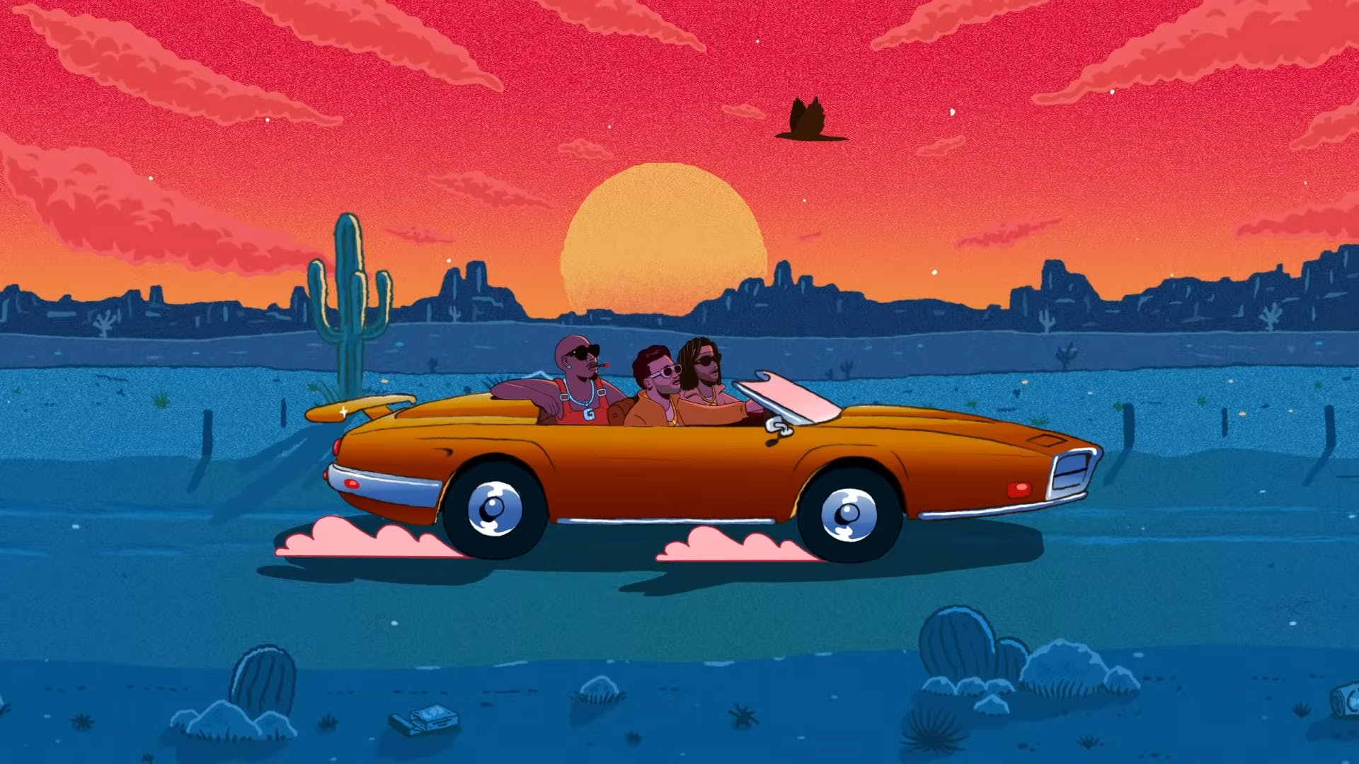 Tom Misch Nightrider music video